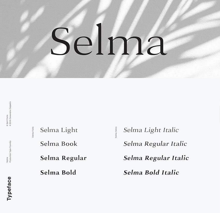 selma classy typeface similar to Georgia alternative