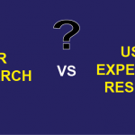 User research and UX research: Any difference?