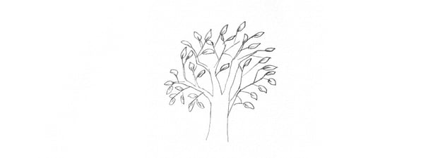 how to draw trees tutorial too literal
