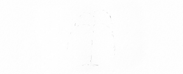 How to Draw Trees Tutorial start weeping willow tree drawing