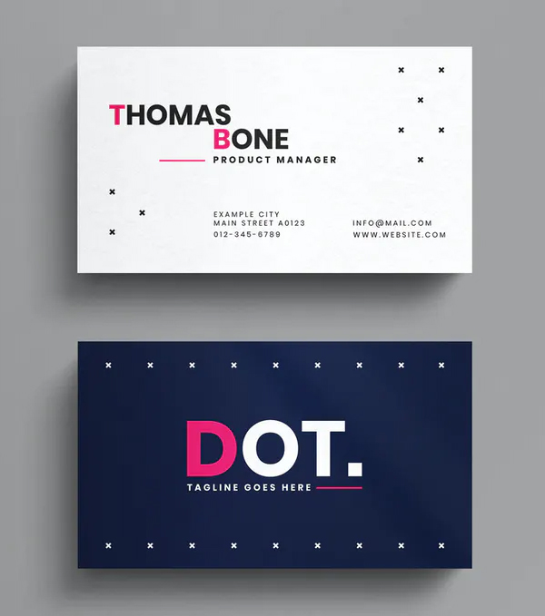 Perfect Minimal Business Card Template