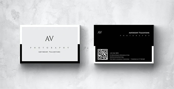 Multipurpose Minimal Business Card