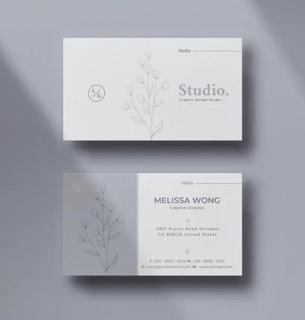Studio Minimal Business Card