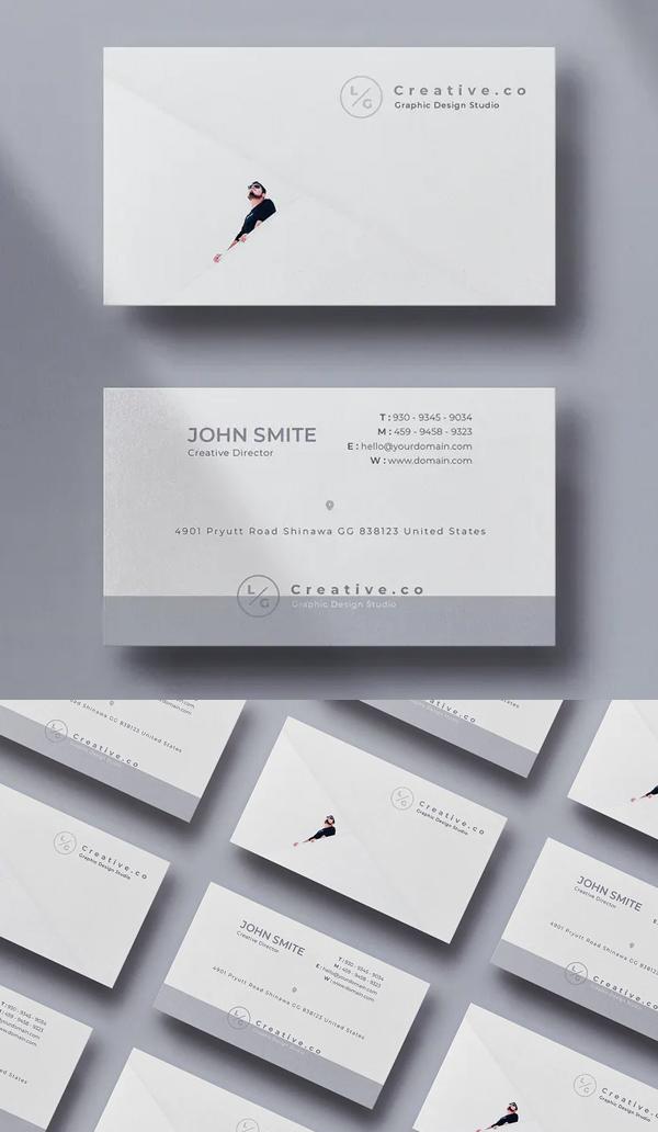 Designer Minimal Business Card