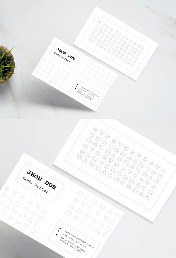 Simple Minimal Business Card