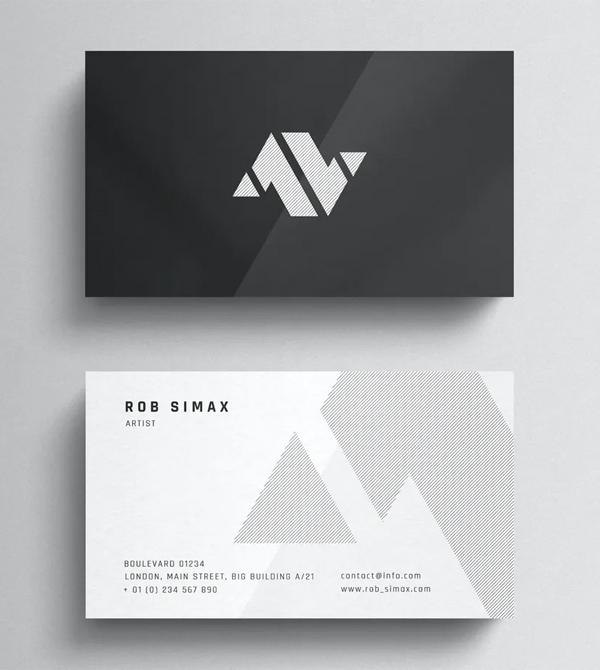 Corporate Minimal Business Card Template