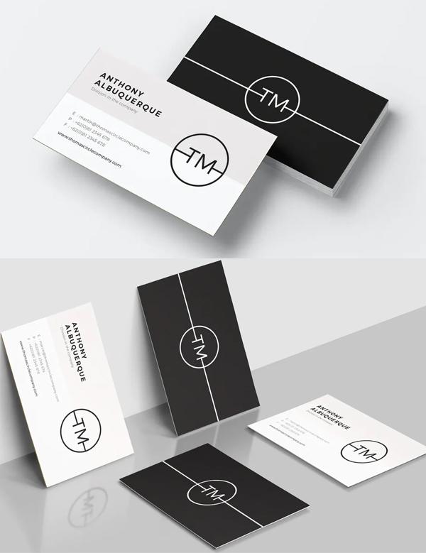 Elegant Minimal Business Card