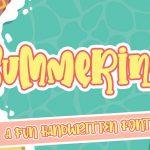 42 Cool Summer Fonts (Tropical, Festival, Camp Fonts)
